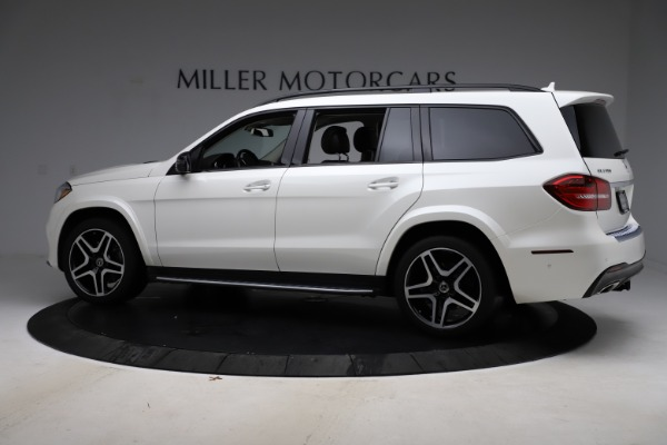 Used 2018 Mercedes-Benz GLS 550 for sale Sold at McLaren Greenwich in Greenwich CT 06830 4