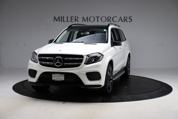 Used 2018 Mercedes-Benz GLS 550 for sale Sold at McLaren Greenwich in Greenwich CT 06830 1