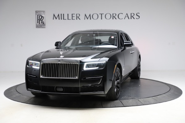 New 2021 Rolls-Royce Ghost for sale $374,150 at McLaren Greenwich in Greenwich CT 06830 2