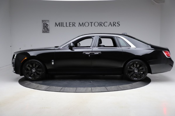 New 2021 Rolls-Royce Ghost for sale $374,150 at McLaren Greenwich in Greenwich CT 06830 4