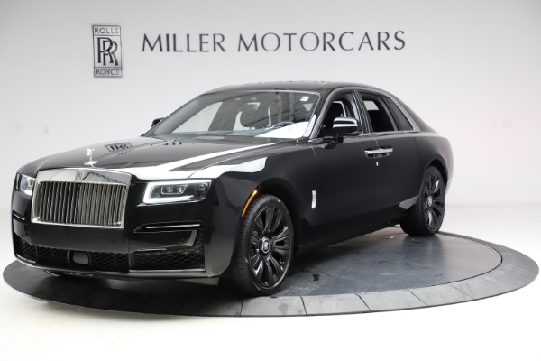 New 2021 Rolls-Royce Ghost for sale Sold at McLaren Greenwich in Greenwich CT 06830 3