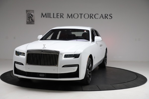 New 2021 Rolls-Royce Ghost for sale $390,400 at McLaren Greenwich in Greenwich CT 06830 2