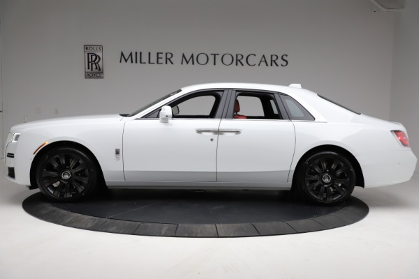 New 2021 Rolls-Royce Ghost for sale $390,400 at McLaren Greenwich in Greenwich CT 06830 4