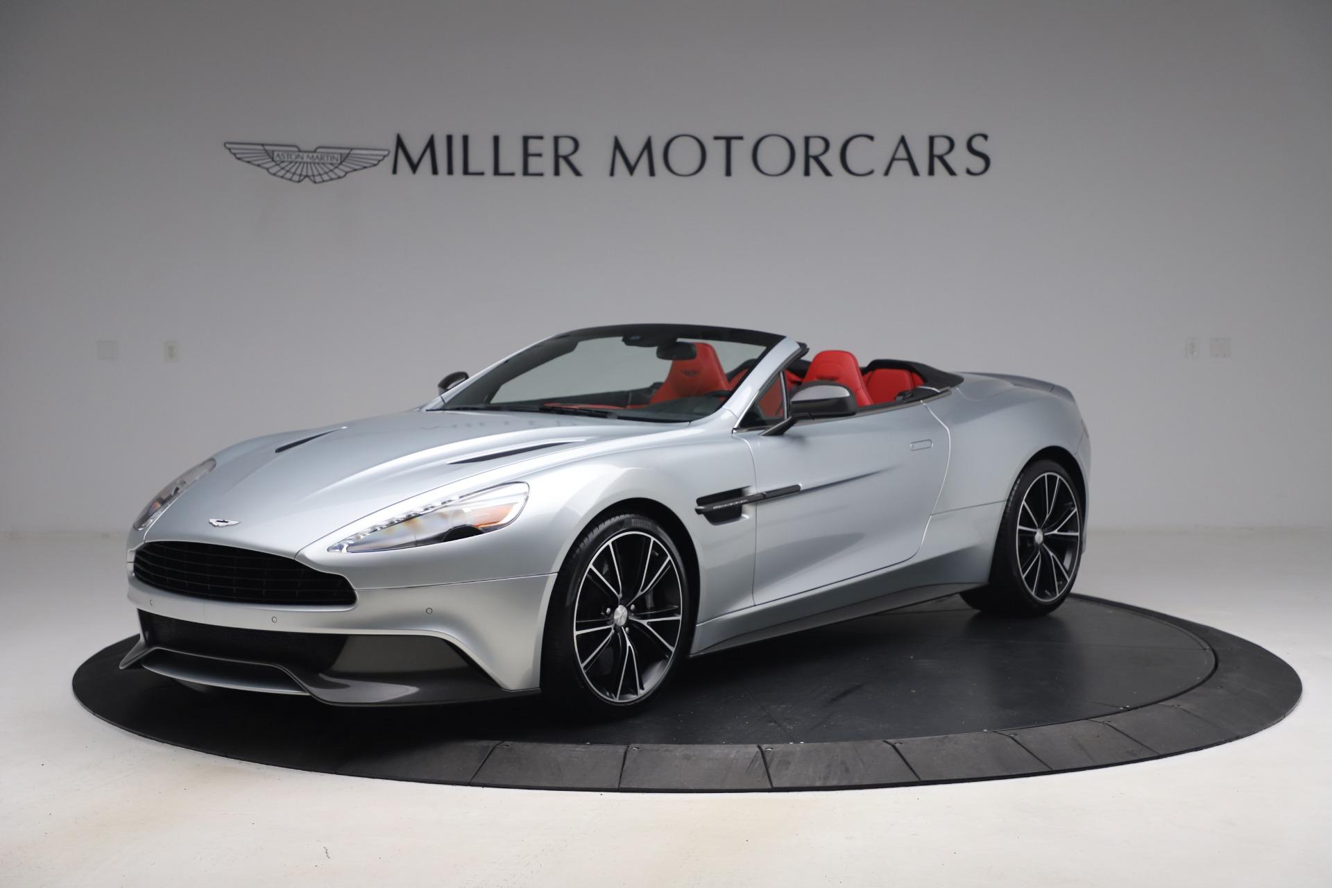 Used 2014 Aston Martin Vanquish Volante for sale $129,900 at McLaren Greenwich in Greenwich CT 06830 1