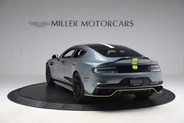 Used 2019 Aston Martin Rapide AMR Sedan for sale $187,900 at McLaren Greenwich in Greenwich CT 06830 4