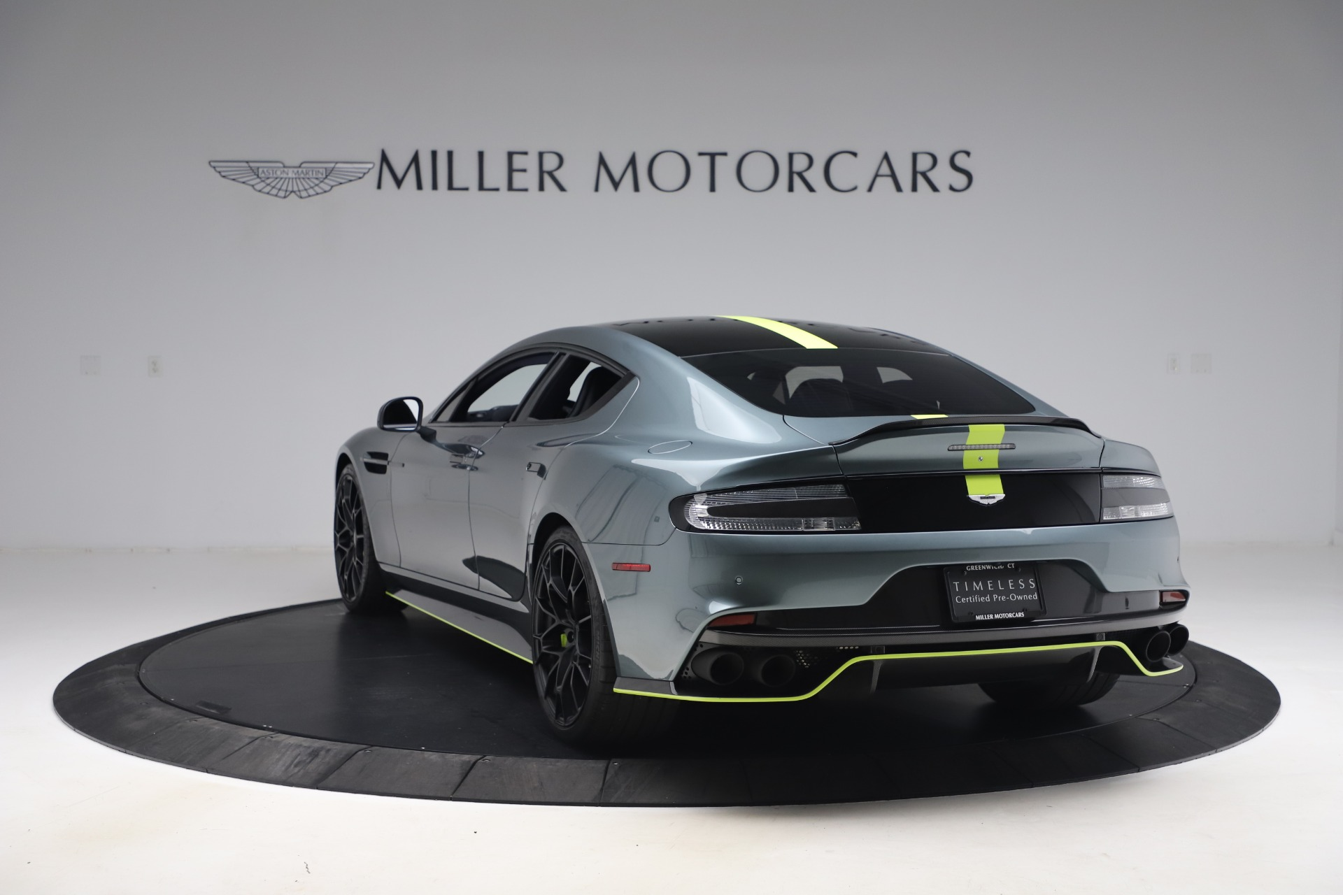 Pre Owned 2019 Aston Martin Rapide Amr For Sale 187 900 Mclaren Greenwich Stock 7979