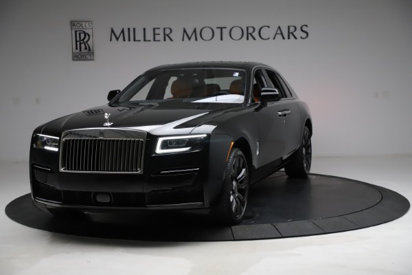 New 2021 Rolls-Royce Ghost for sale $381,100 at McLaren Greenwich in Greenwich CT 06830 1