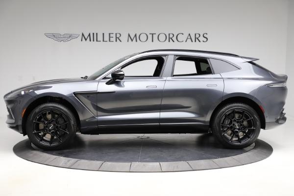 New 2021 Aston Martin DBX for sale $201,586 at McLaren Greenwich in Greenwich CT 06830 2