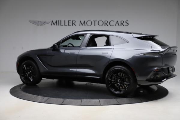 New 2021 Aston Martin DBX for sale $201,586 at McLaren Greenwich in Greenwich CT 06830 3