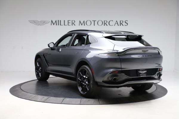 New 2021 Aston Martin DBX for sale $201,586 at McLaren Greenwich in Greenwich CT 06830 4