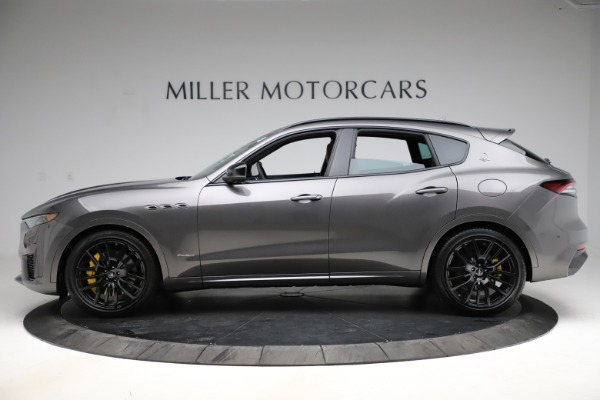 New 2021 Maserati Levante S Q4 GranSport for sale $108,235 at McLaren Greenwich in Greenwich CT 06830 3