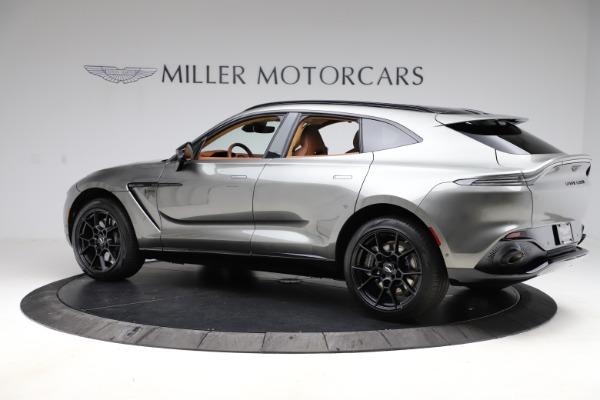 New 2021 Aston Martin DBX for sale $226,136 at McLaren Greenwich in Greenwich CT 06830 3