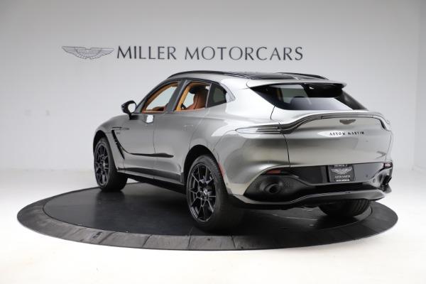 New 2021 Aston Martin DBX for sale $226,136 at McLaren Greenwich in Greenwich CT 06830 4