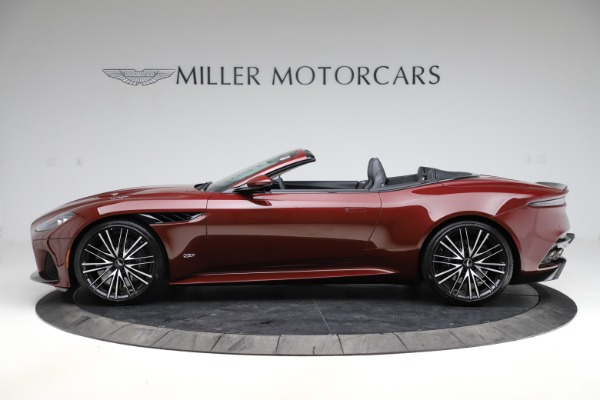 New 2021 Aston Martin DBS Superleggera Volante Convertible for sale $362,486 at McLaren Greenwich in Greenwich CT 06830 2