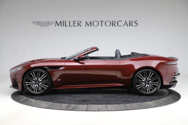New 2021 Aston Martin DBS Superleggera Volante for sale $362,486 at McLaren Greenwich in Greenwich CT 06830 2