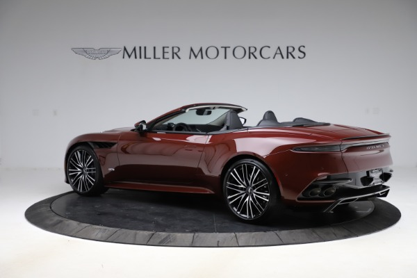 New 2021 Aston Martin DBS Superleggera Volante Convertible for sale $362,486 at McLaren Greenwich in Greenwich CT 06830 3