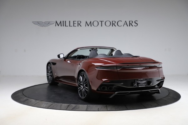 New 2021 Aston Martin DBS Superleggera Volante Convertible for sale $362,486 at McLaren Greenwich in Greenwich CT 06830 4