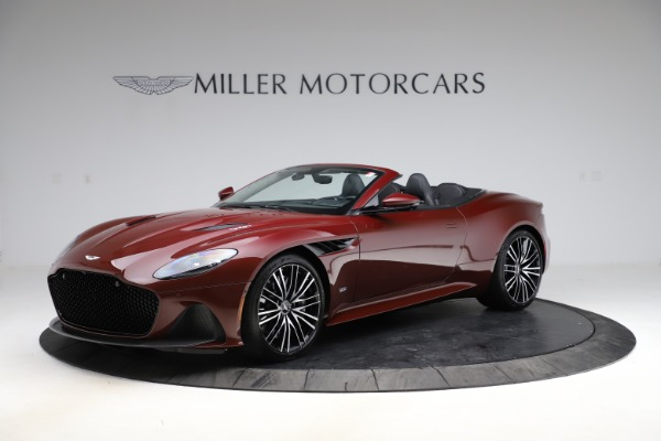 New 2021 Aston Martin DBS Superleggera Volante Convertible for sale $362,486 at McLaren Greenwich in Greenwich CT 06830 1