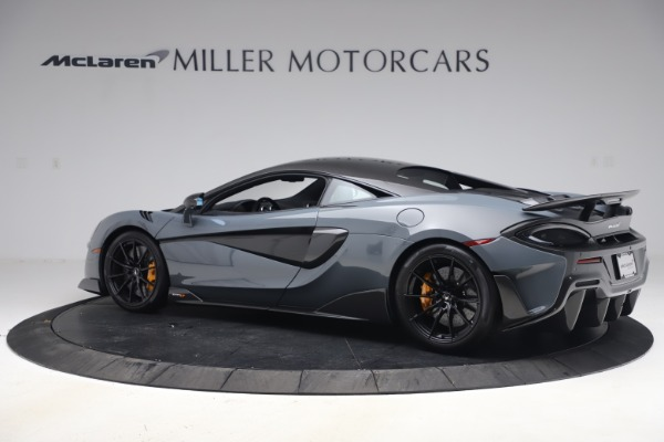 Used 2019 McLaren 600LT Coupe for sale $229,900 at McLaren Greenwich in Greenwich CT 06830 3
