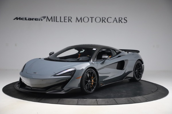 Used 2019 McLaren 600LT Coupe for sale $229,900 at McLaren Greenwich in Greenwich CT 06830 1