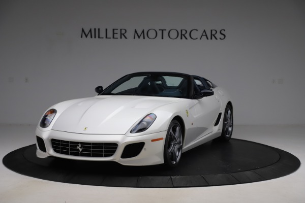 Used 2011 Ferrari 599 SA Aperta for sale Call for price at McLaren Greenwich in Greenwich CT 06830 2