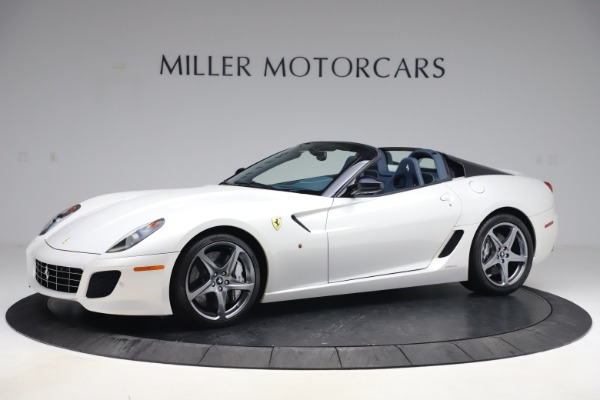 Used 2011 Ferrari 599 SA Aperta for sale Call for price at McLaren Greenwich in Greenwich CT 06830 1