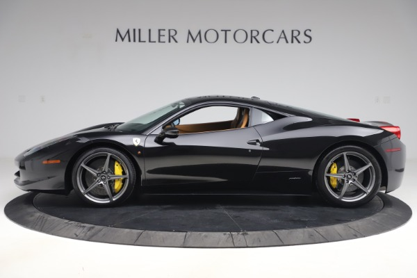 Used 2012 Ferrari 458 Italia for sale Sold at McLaren Greenwich in Greenwich CT 06830 3