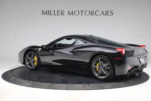 Used 2012 Ferrari 458 Italia for sale Sold at McLaren Greenwich in Greenwich CT 06830 4