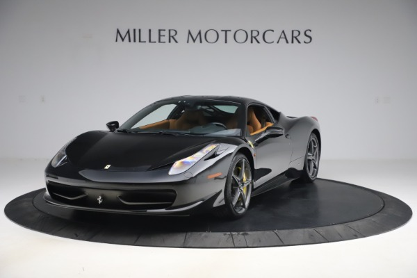 Used 2012 Ferrari 458 Italia for sale Sold at McLaren Greenwich in Greenwich CT 06830 1