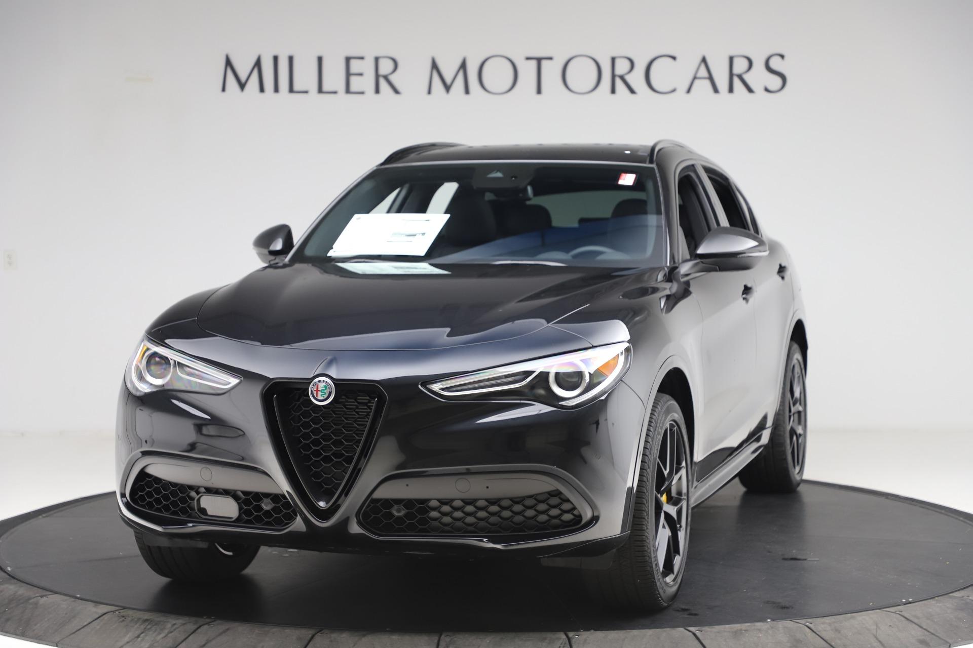 New 2020 Alfa Romeo Stelvio Ti Sport Q4 for sale Sold at McLaren Greenwich in Greenwich CT 06830 1