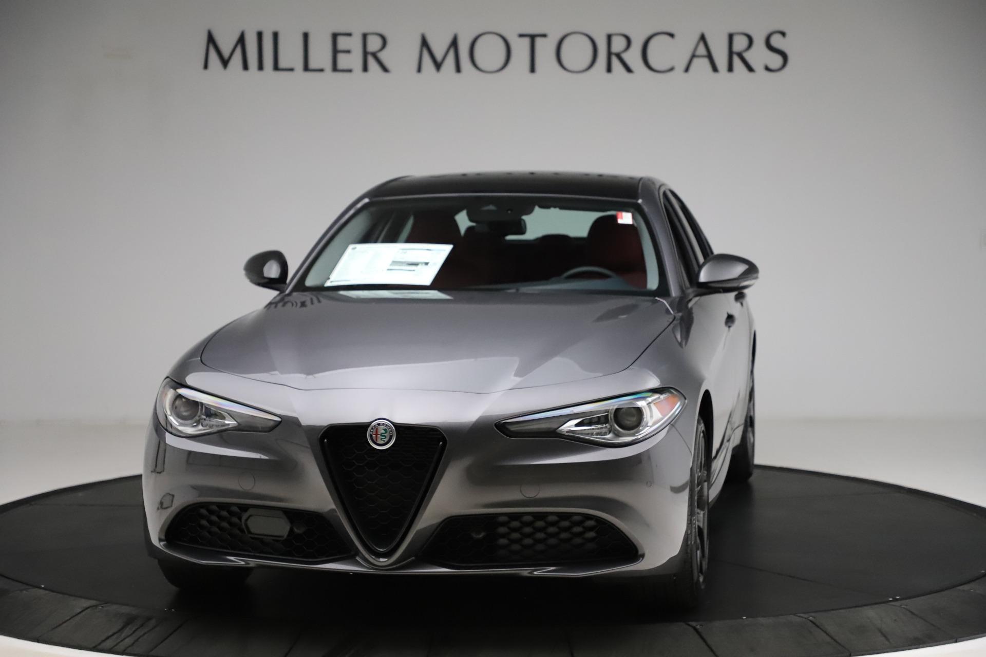 New 2021 Alfa Romeo Giulia Q4 for sale $48,035 at McLaren Greenwich in Greenwich CT 06830 1