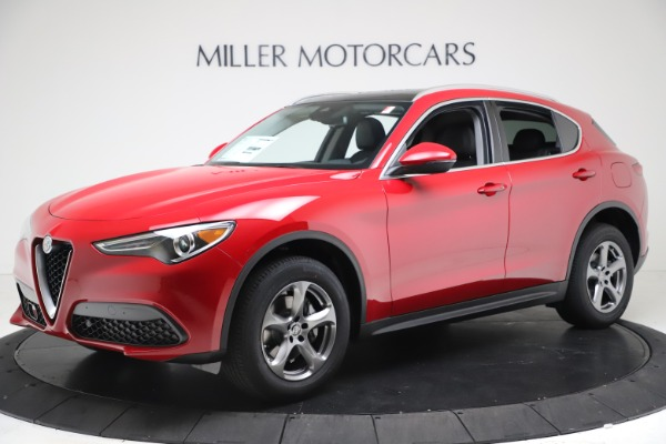 New 2021 Alfa Romeo Stelvio Q4 for sale $47,735 at McLaren Greenwich in Greenwich CT 06830 2