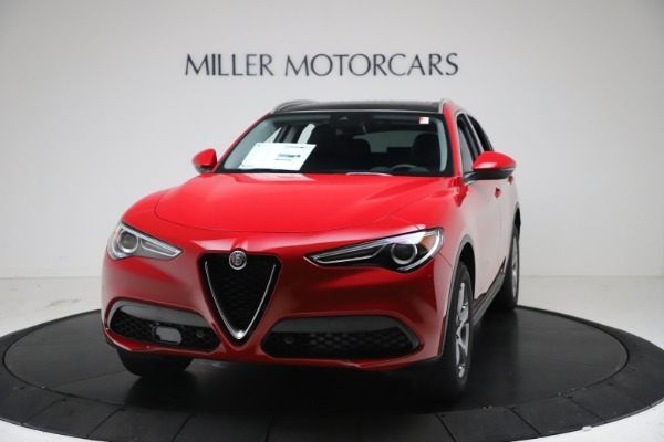 New 2021 Alfa Romeo Stelvio Q4 for sale $47,735 at McLaren Greenwich in Greenwich CT 06830 1