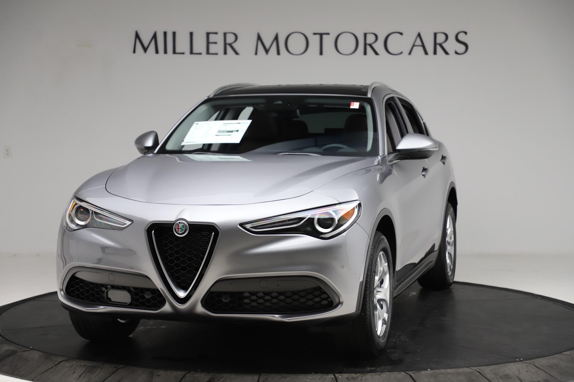 New 2021 Alfa Romeo Stelvio Q4 for sale $48,835 at McLaren Greenwich in Greenwich CT 06830 1