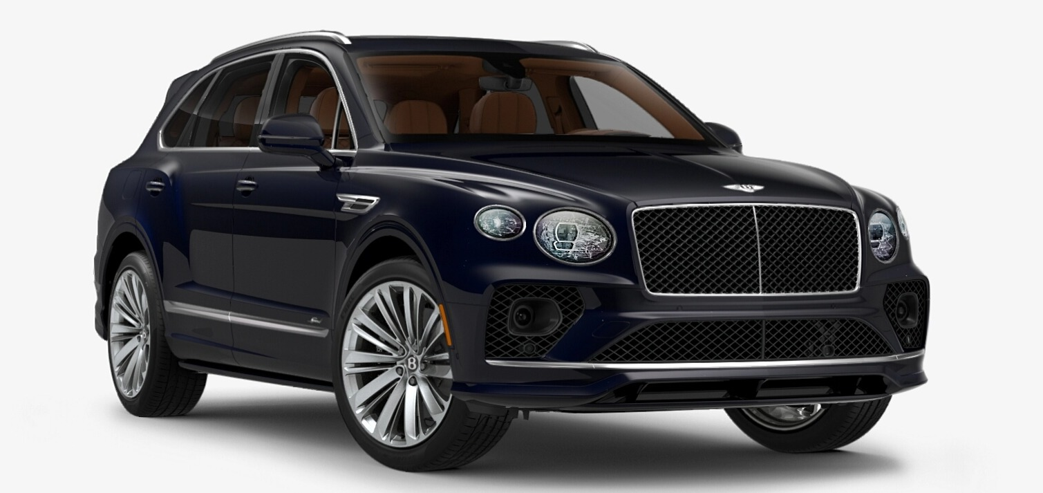 New 2021 Bentley Bentayga Speed Edition for sale $272,895 at McLaren Greenwich in Greenwich CT 06830 1