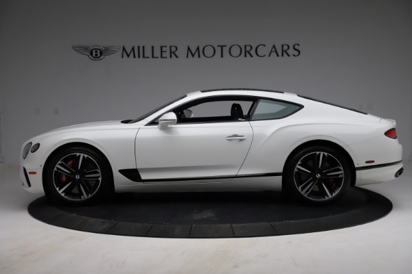 New 2021 Bentley Continental GT V8 for sale Call for price at McLaren Greenwich in Greenwich CT 06830 3