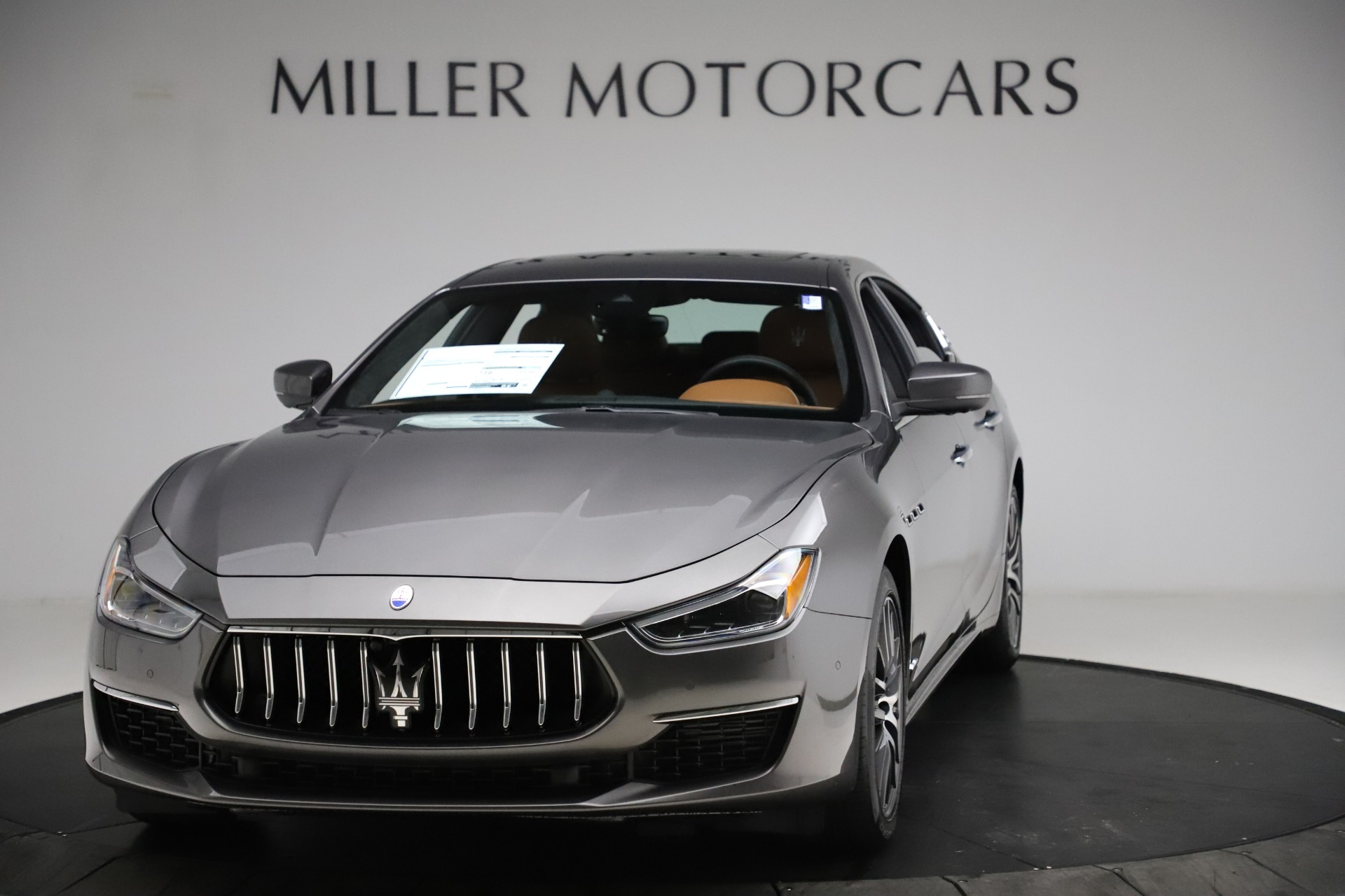 New 2021 Maserati Ghibli S Q4 GranLusso for sale Sold at McLaren Greenwich in Greenwich CT 06830 1