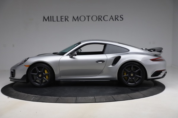 Used 2019 Porsche 911 Turbo S for sale $177,900 at McLaren Greenwich in Greenwich CT 06830 3