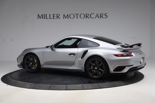 Used 2019 Porsche 911 Turbo S for sale $177,900 at McLaren Greenwich in Greenwich CT 06830 4