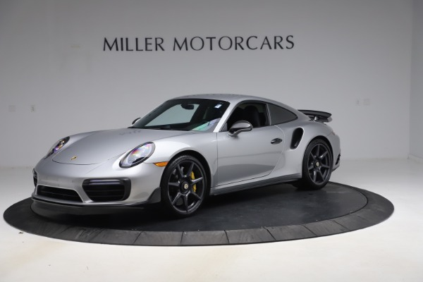 Used 2019 Porsche 911 Turbo S for sale $177,900 at McLaren Greenwich in Greenwich CT 06830 1