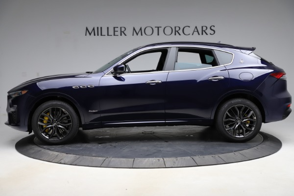 New 2021 Maserati Levante S Q4 GranSport for sale $100,185 at McLaren Greenwich in Greenwich CT 06830 3