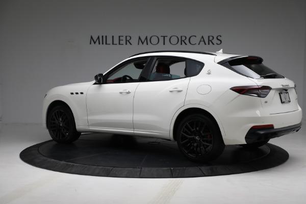 New 2021 Maserati Levante Q4 for sale $76,769 at McLaren Greenwich in Greenwich CT 06830 4