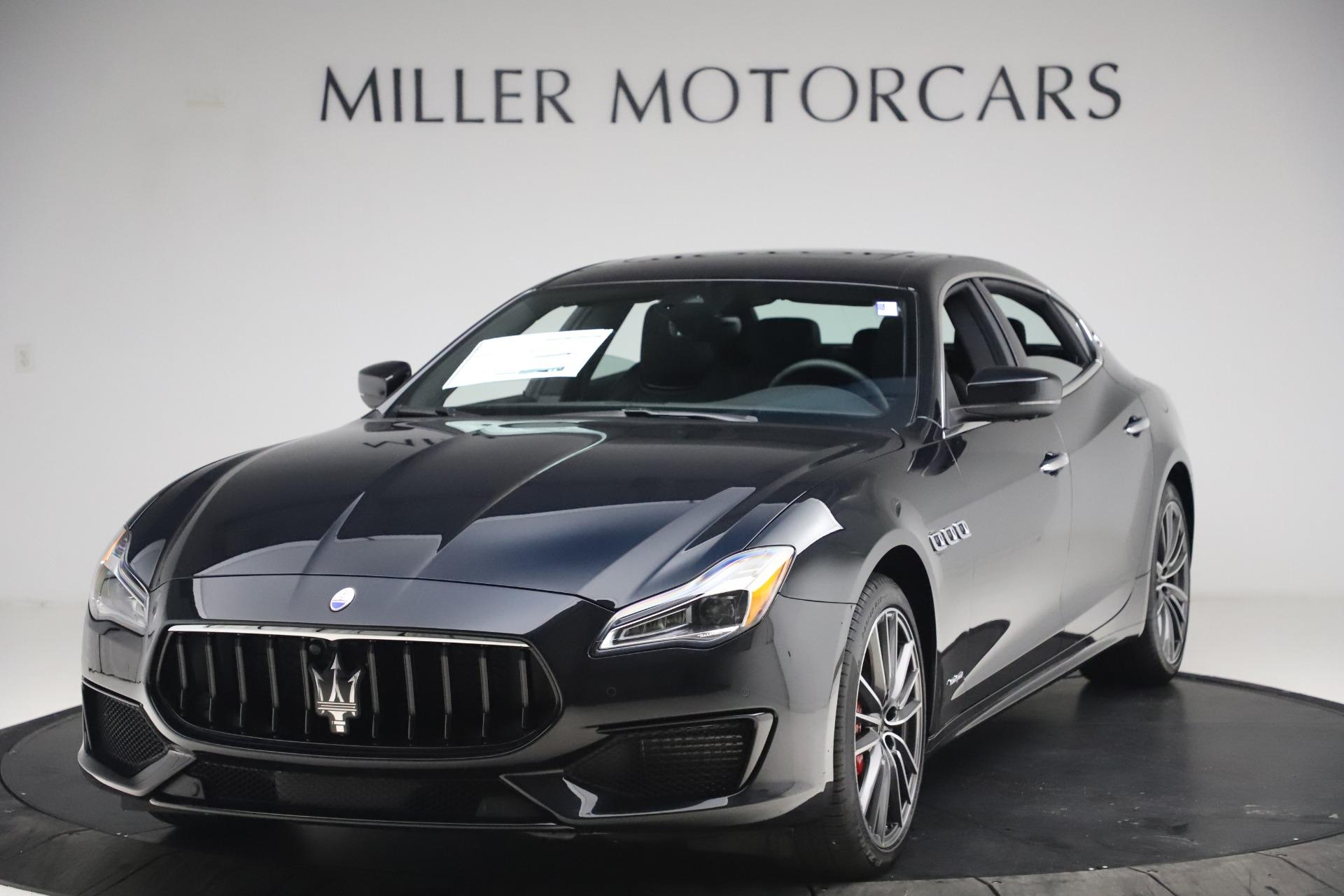New 2021 Maserati Quattroporte S Q4 GranSport for sale $129,185 at McLaren Greenwich in Greenwich CT 06830 1