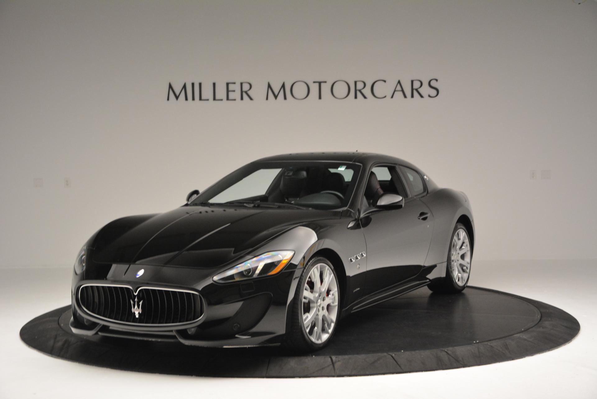 Used 2013 Maserati GranTurismo Sport for sale Sold at McLaren Greenwich in Greenwich CT 06830 1