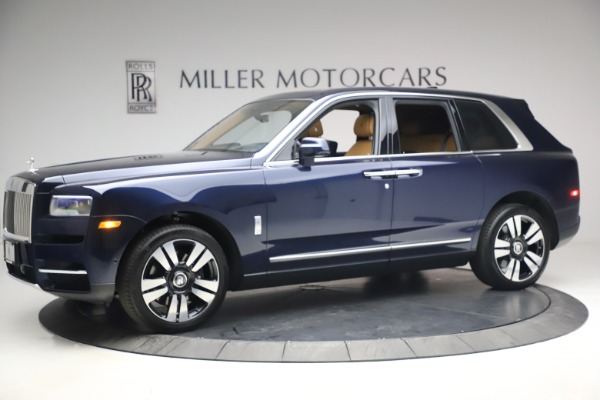 Used 2019 Rolls-Royce Cullinan for sale Sold at McLaren Greenwich in Greenwich CT 06830 3