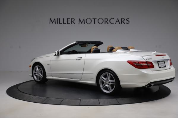 Used 2012 Mercedes-Benz E-Class E 550 for sale Call for price at McLaren Greenwich in Greenwich CT 06830 3