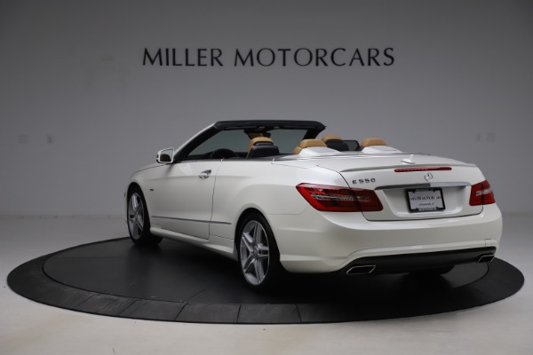 Used 2012 Mercedes-Benz E-Class E 550 for sale Call for price at McLaren Greenwich in Greenwich CT 06830 4