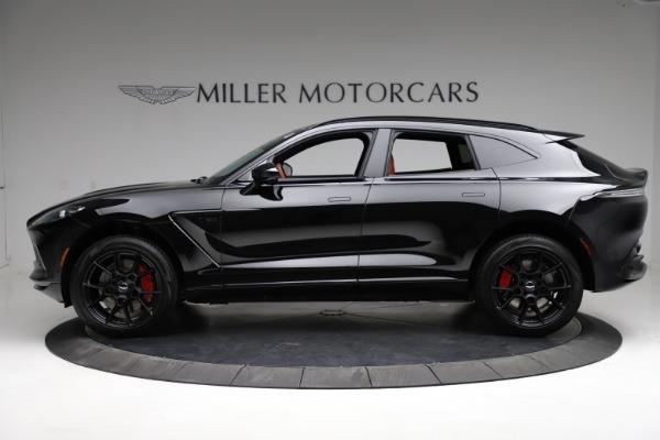 New 2021 Aston Martin DBX SUV for sale $200,986 at McLaren Greenwich in Greenwich CT 06830 2