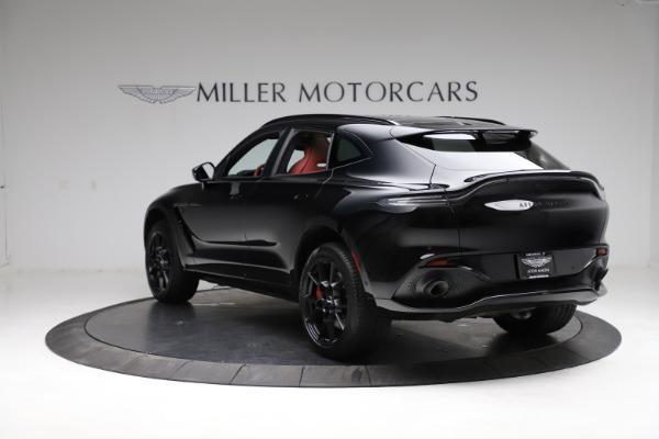 New 2021 Aston Martin DBX SUV for sale $200,986 at McLaren Greenwich in Greenwich CT 06830 4