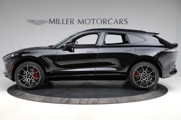 New 2021 Aston Martin DBX SUV for sale $212,686 at McLaren Greenwich in Greenwich CT 06830 2